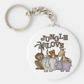Jungle Love Keychain