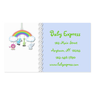 Jungle Mobile Baby Business Card