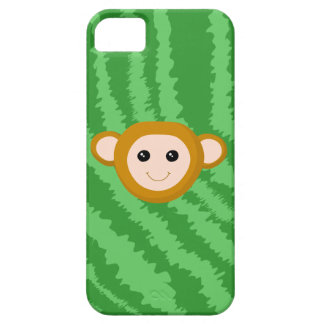 Jungle Monkey, Face. iPhone 5 Covers