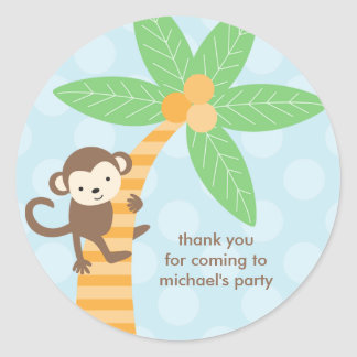 Jungle Monkey Stickers