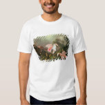 Jungle orchids and hummingbirds, 1872 tee shirts