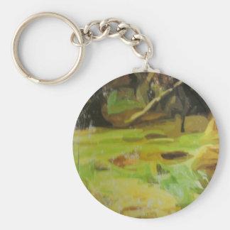 Jungle Paint Key Chains