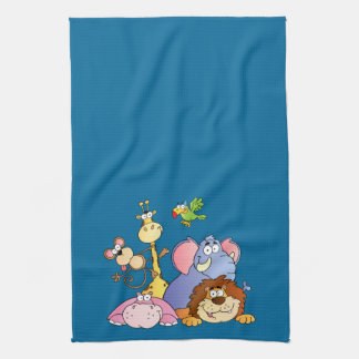 Jungle Pals Tea Towel