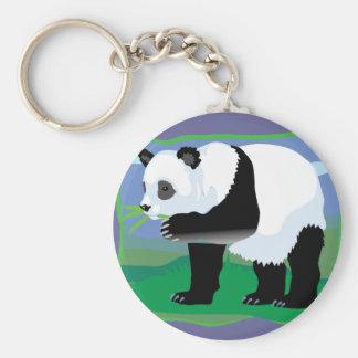 Jungle Panda Bear Key Chains