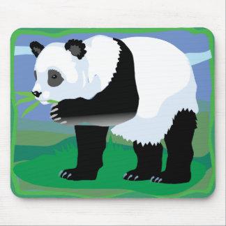 Jungle Panda Bear Mouse Mat