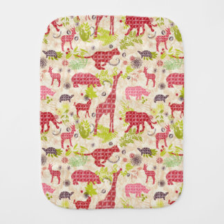 Jungle Paradise Burp Cloth