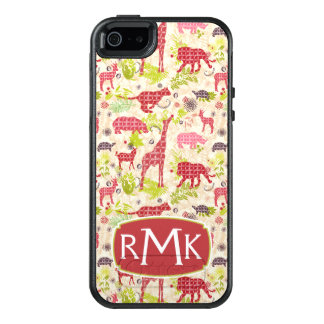 Jungle paradise | Monogram OtterBox iPhone 5/5s/SE Case