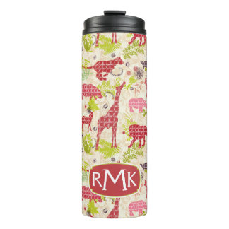 Jungle paradise | Monogram Thermal Tumbler