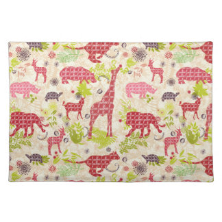 Jungle paradise placemat