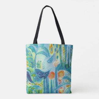 Jungle pattern. tote bag