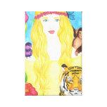"Jungle Princess Wrapped Canvas (11"" x 16.5"") Gallery Wrap Canvas"