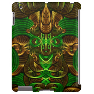 Jungle Roots Pattern iPad Case