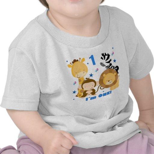Jungle Safari 1st Birthday T-shirt
