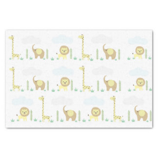 Jungle Safari Baby Tissue Paper
