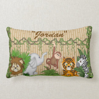 Jungle Safari Kid's Room Decorative Pillow