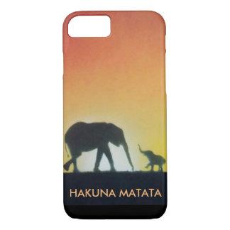 jungle safari spray paint art phone case