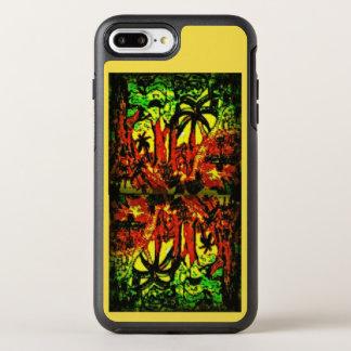 Jungle scenery softly lightening mirrored upside OtterBox symmetry iPhone 8 plus/7 plus case