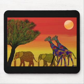 Jungle Sunset Mousepad