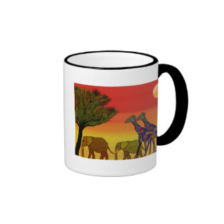 Jungle Sunset Mug