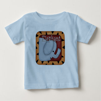 Jungle Theme Fun Elephant T-Shirt