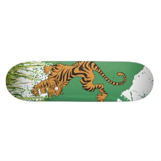 Jungle Tiger 21.6 Cm Skateboard Deck