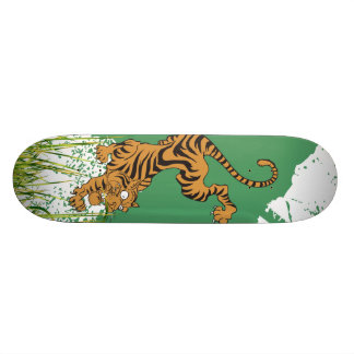 Jungle Tiger 21.6 Cm Skateboard Deck