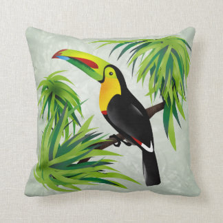 Jungle Toucan Cushion