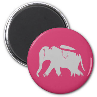 Jungle Walker 6 Cm Round Magnet