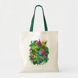 Jungle Wild Animals and Plants Bag