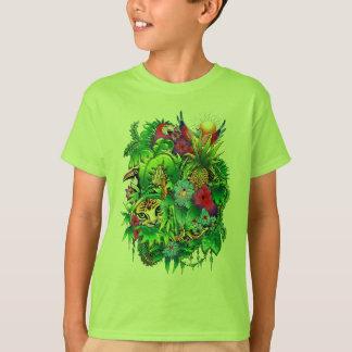 Jungle Wild Animals and Plants T-Shirt