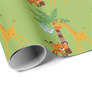 Jungle Wrapping Paper