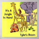 Jungle, Zoo Animals