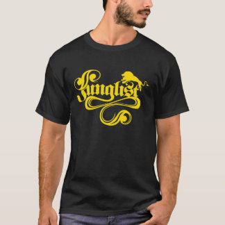 Junglist Black & Gold T-Shirt