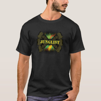 junglist drum bass soundsystem t-shirt