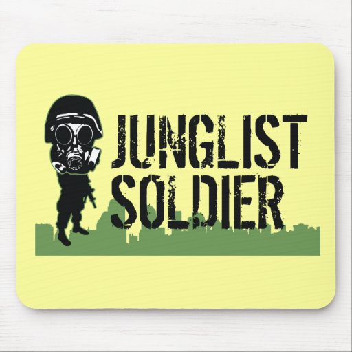 Junglist Soldier Mousepad