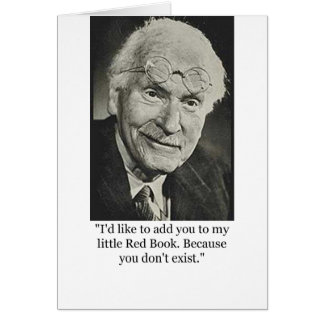 Jung's Little Red Book Greeting Card