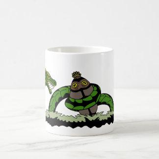 Jungun Catching a Quibbib Coffee Mug
