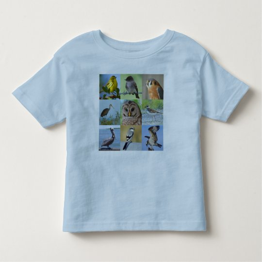 Junior Birder Tee-Shirt (quiz 1&2) Toddler T-Shirt