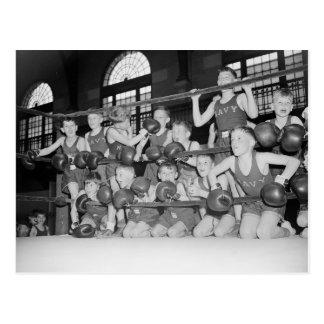 Junior Boxing 1939 Post Cards