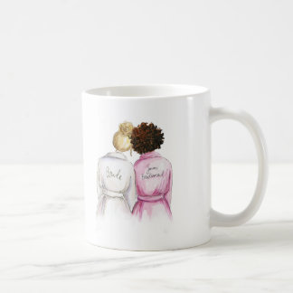 Junior Bridesmaid? Bl Bun Bride Auburn Curls Maid Coffee Mug