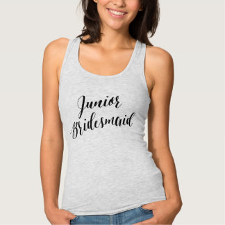 Junior Bridesmaid Black Script Shirt