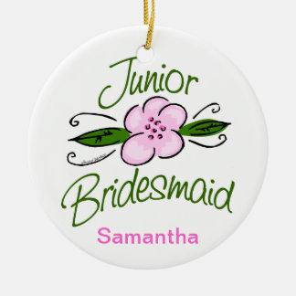 Junior Bridesmaid Christmas Ornament