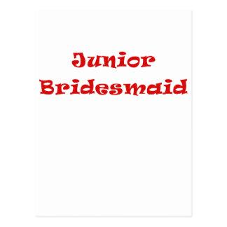Junior Bridesmaid Post Card