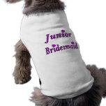 Junior Bridesmaid Simply Love Pet T-shirt