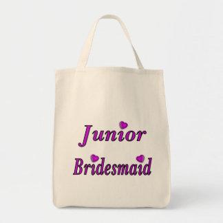 Junior Bridesmaid Simply Love Tote Bags
