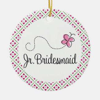 Junior Bridesmaid Wedding Keepsake Ornament Gift