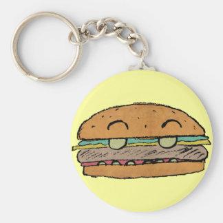 Junior Burger Keychain