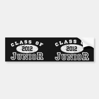 Junior Class Of Bumper Sticker