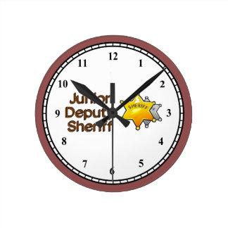 Junior Deputy Sheriff Clock