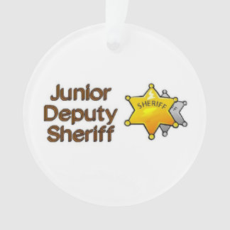 Junior Deputy Sheriff Ornament